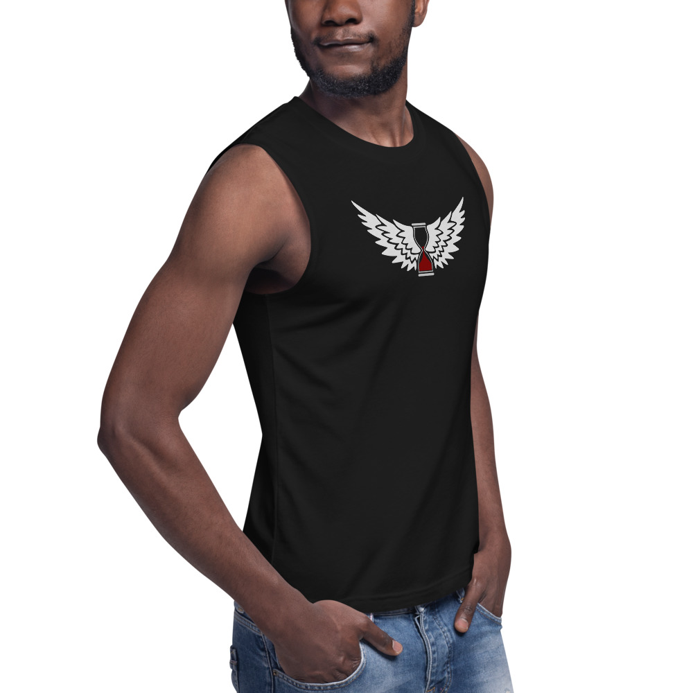 Wings Of Time Muscle Shirt Righteous1apparel Com